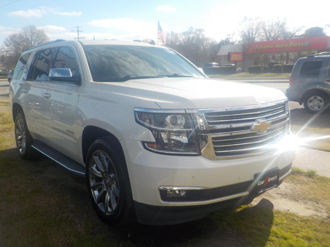 2015 CHEVROLET TAHOE LTZ 4X4, NAVIGATION, LEATHER, SUNROOF, HEATED & COOLED SEATS, BACKUP CAMERA, REMOTE START! Virginia Beach VA