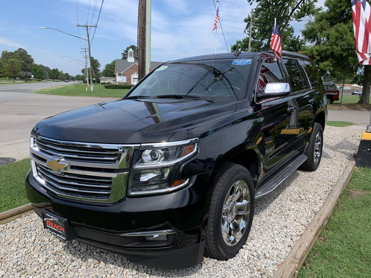 2015 CHEVROLET TAHOE LTZ 4X4, WARRANTY, LEATHER, NAV, SUNROOF, HEATED/COOLED SEATS, 3RD ROW, BACKUP CAM, CAPTAINS CHAIRS! Norfolk VA