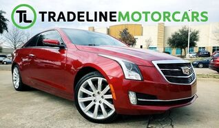 2015_Cadillac_ATS Coupe_Luxury RWD NAVIGATION, LEATHER, REAR VIEW CAMERA, AND MUCH MORE!_ CARROLLTON TX