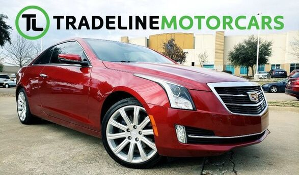2015 Cadillac ATS Coupe Luxury RWD NAVIGATION, LEATHER, REAR VIEW CAMERA, AND MUCH MORE! CARROLLTON TX