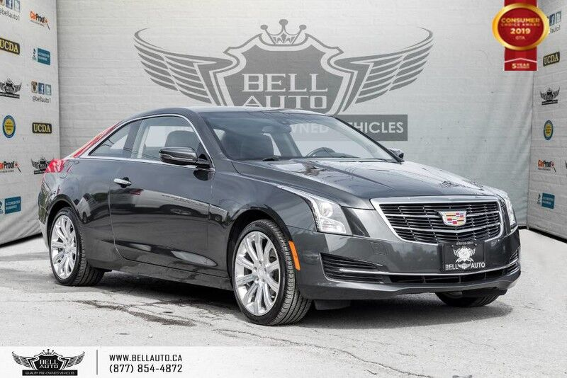 2015 Cadillac ATS Coupe Standard AWD, ONSTAR, BACK-UP CAM, SUNROOF