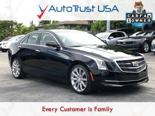 Cadillac ATS Sedan 2.0L Turbo Luxury 1 OWNER NAV BACKUP CAM SUNROOF LOW MILES 2015