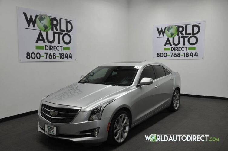 2015_Cadillac_ATS Sedan_Premium AWD_ Houston TX