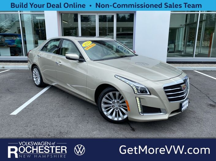 2015 Cadillac CTS 2.0L Turbo Luxury Rochester NH