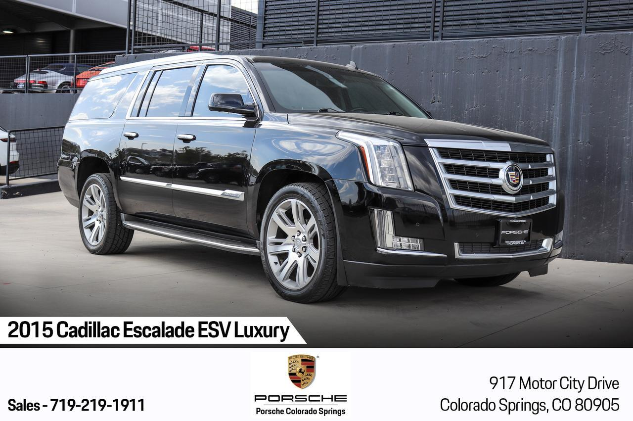 2015 Cadillac Escalade ESV Luxury Colorado Springs CO
