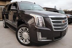 2015_Cadillac_Escalade ESV_Platinum CLEAN CARFAX REAR ENTERTAINMENT MUST SEE!_ Houston TX