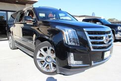2015_Cadillac_Escalade ESV_Premium DUAL DVD ENTERTAINMENT CLEAN CARFAX CAPTAINS CHAIRS!_ Houston TX