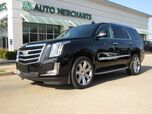 2015 Cadillac Escalade Luxury 4WD LEATHER, CAPTAINS CHAIRS, SUNROOF, HEADS UP DISPLAY, BLIND SPOT MONITOR, BACKUP CAMERA