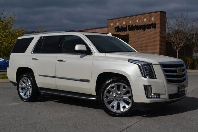 2015 Cadillac Escalade Luxury/4X4/22'' Wheels/Blind Spot Monitor/Lane Departure Warning/Middle Row Captains/Rear DVD/Head Up Disp/Nav/360 Cams/Heated&Cooled Seats/Bose Sound/Loaded Nashville TN