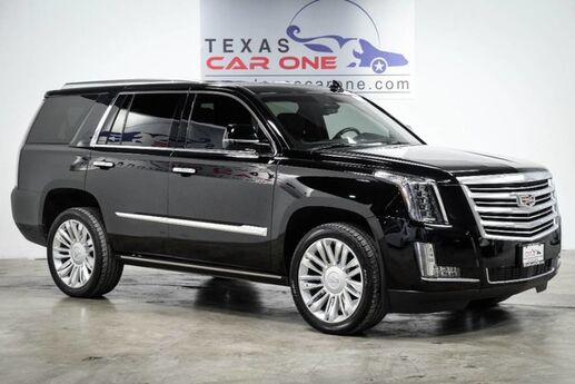 2015 Cadillac Escalade PLATINUM FORWARD COLLISION ALERT LANE CHANGE ALERT SIDE BLIND ZONE ALERT Carrollton TX