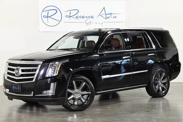 2015 Cadillac Escalade Premium 4WD Power Boards Rear DVD Captains The Colony TX