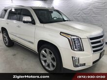 2015_Cadillac_Escalade_Premium Kona Brown Interior, Power Running Boards, Clean Carfax_ Addison TX