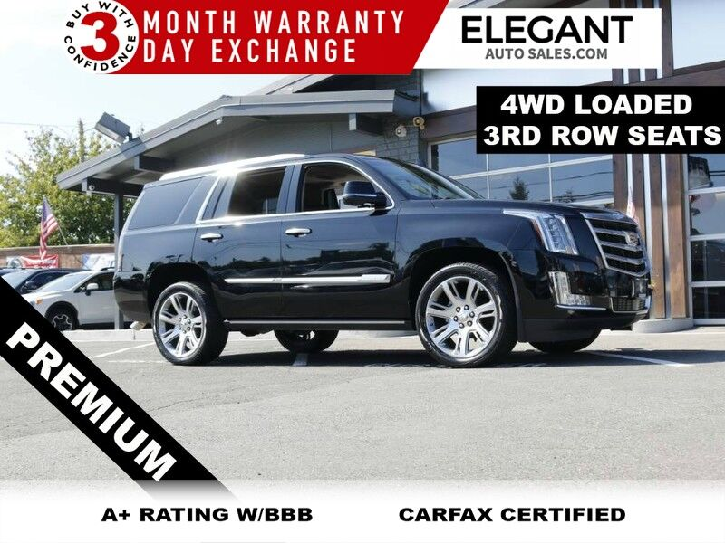 2015 Cadillac Escalade Premium LOADED DVD 3RD ROW HTD COOLED SEATS