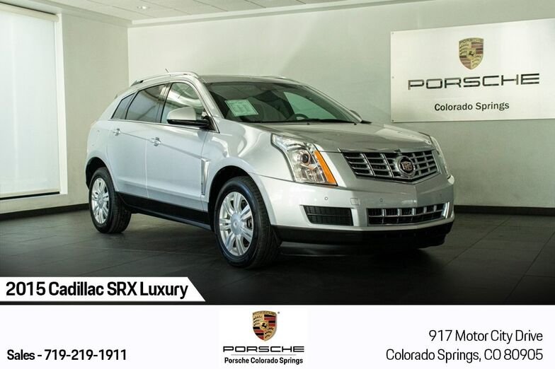 2015 Cadillac SRX Luxury Colorado Springs CO
