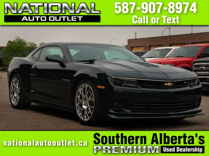 2015 Chevrolet Camaro 2-SS - MAGNUSON SUPERCHARGED - 21 INCH WHEELS -RARE Lethbridge AB