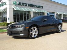 2015_Chevrolet_Camaro_2LT Coupe *RS PACKAGE* LEATHER, SUNROOF, BACKUP CAMERA, NAVIGATION, HTD FRONT SEATS_ Plano TX