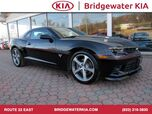 2015 Chevrolet Camaro 2SS Coupe, Commemorative Edition, Navigation, Rear-View Camera, Head-Up Display, Red Leather Interior, 6.2L 426 HP V-8 Engine, 6-Speed Manual Transmission, 20-Inch Alloy Wheels,