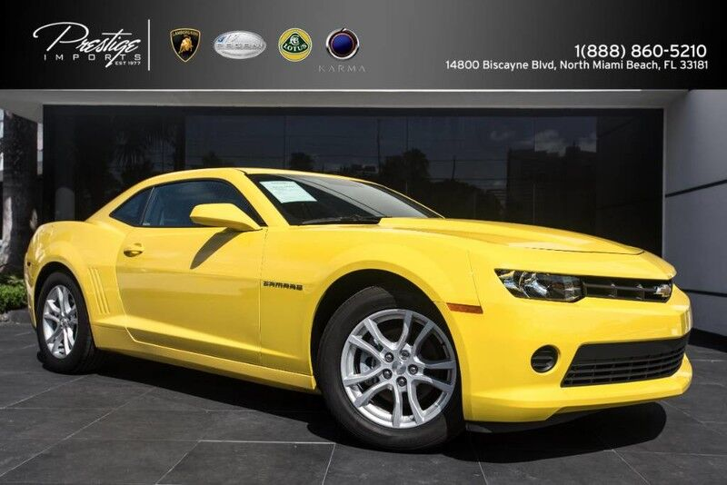 2015_Chevrolet_Camaro_LS_ North Miami Beach FL