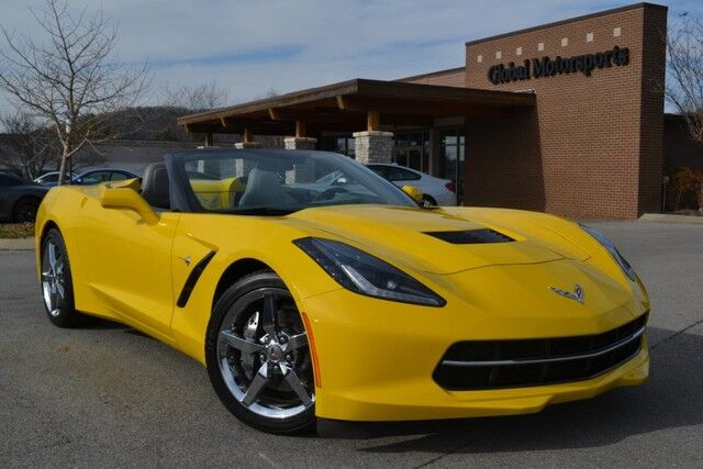 2015 Chevrolet Corvette 3LT Convertible/Heads-Up Display/Heated-Cooled Seats/NAV/Back-Up Camera/3LT Interior Trim/Chrome Badge Package/HID Xenon Lighting/Universal Home Remote Nashville TN