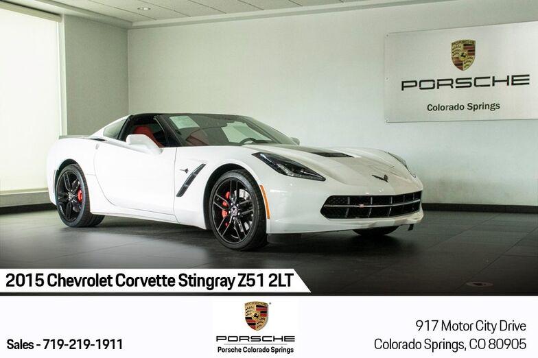 2015 Chevrolet Corvette Stingray Z51 Colorado Springs CO