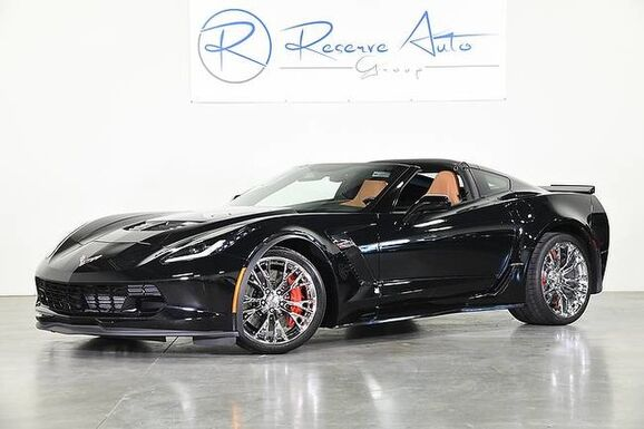 2015_Chevrolet_Corvette_Z06 2LZ Chromes Auto Paddles Kalahari Lthr We Finance_ The Colony TX