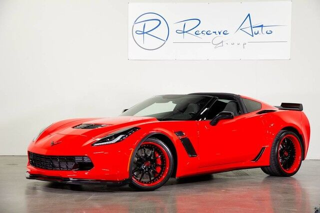 2015 Chevrolet Corvette Z06 3LZ Carbon Ground Effects Show Vehicle The Colony TX