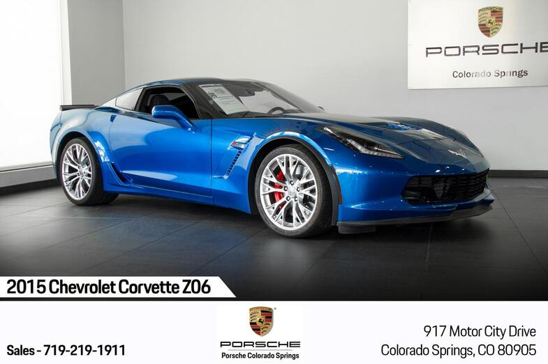 2015 Chevrolet Corvette Z06 Colorado Springs CO