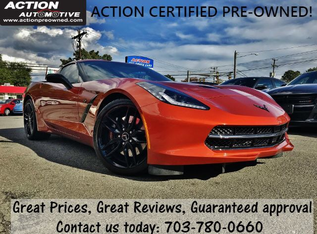 Used 2015 Chevrolet Corvette Z51 2lt Coupe Manual In Alexandria Va