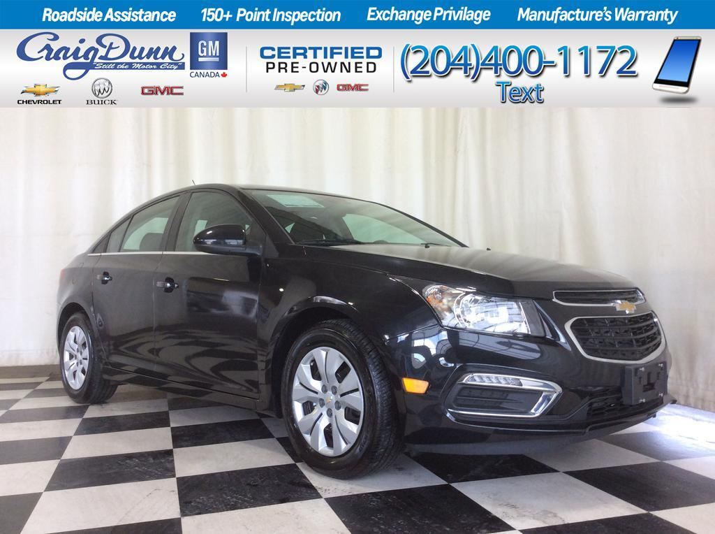 2015 Chevrolet Cruze * 1LT Sedan * BACKUP CAMERA * BLUETOOTH *