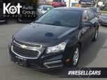 2015 Chevrolet Cruze 2LT Heated Front Seats, Sunroof!