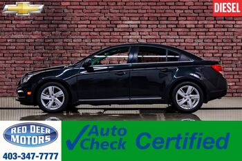 2015_Chevrolet_Cruze_Diesel Leather Roof Nav BCam_ Red Deer AB