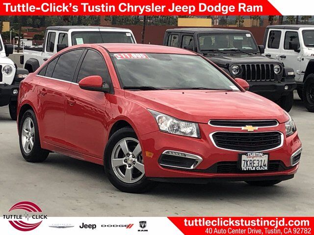 2015 Chevrolet Cruze LT Turbocharged Gas I4 1.4L/83