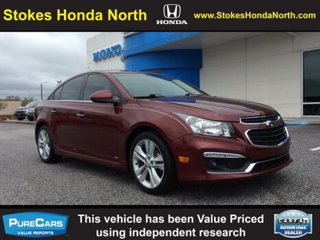 2015_Chevrolet_Cruze_LTZ NAV, LEATHER, SUNROOF_ Aiken SC