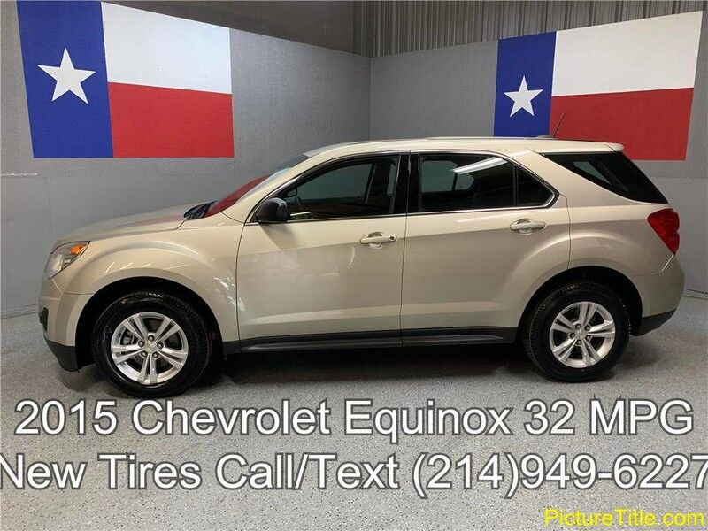 2015 Chevrolet Equinox 2015 LS 2.4L 32 MPG New Tires Keyless Entry CD