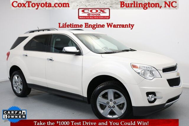 2015 Chevrolet Equinox LTZ Burlington NC
