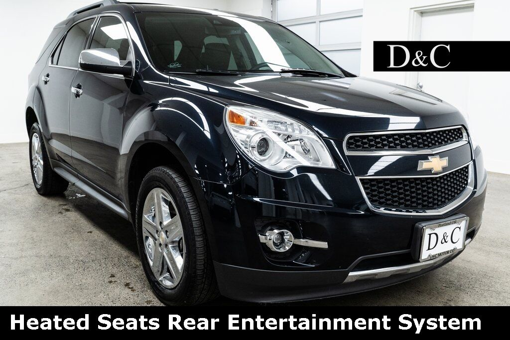 2015 Chevrolet Equinox LTZ Heated Seats Rear Entertainment System Portland OR
