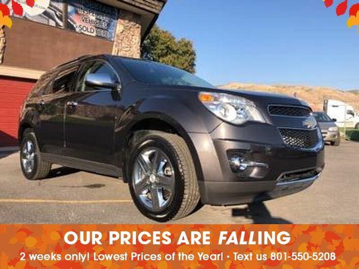 2015 Chevrolet Equinox LTZ Salt Lake City UT