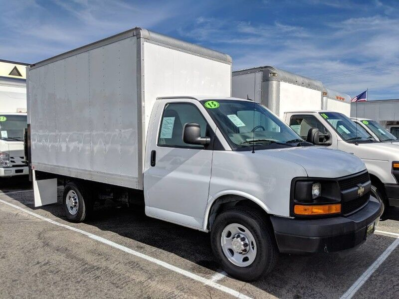 2015 Chevrolet Express 3500 12FT Box Truck with Liftgate