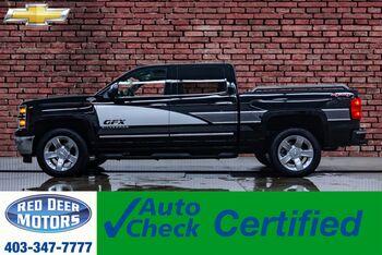 2015_Chevrolet_Silverado 1500_4x4 Crew Cab LTZ GFX Ultimate Leather Roof Nav_ Red Deer AB