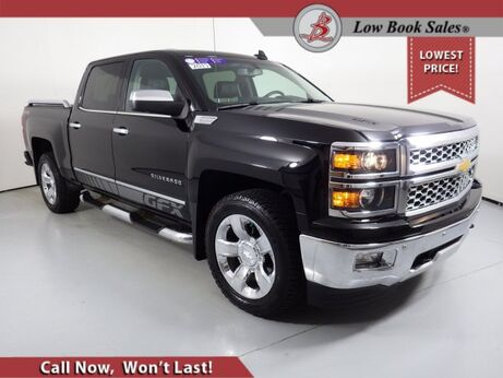 2015_Chevrolet_Silverado 1500_CREW CAB 4X4 LTZ_ Salt Lake City UT