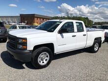 2015_Chevrolet_Silverado 1500 Double Cab 4x4 w/ Bed Cover_Work Truck_ Ashland VA