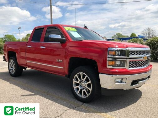 2015_Chevrolet_Silverado 1500_LTZ Double Cab Short Box 4WD_ Frankfort KY