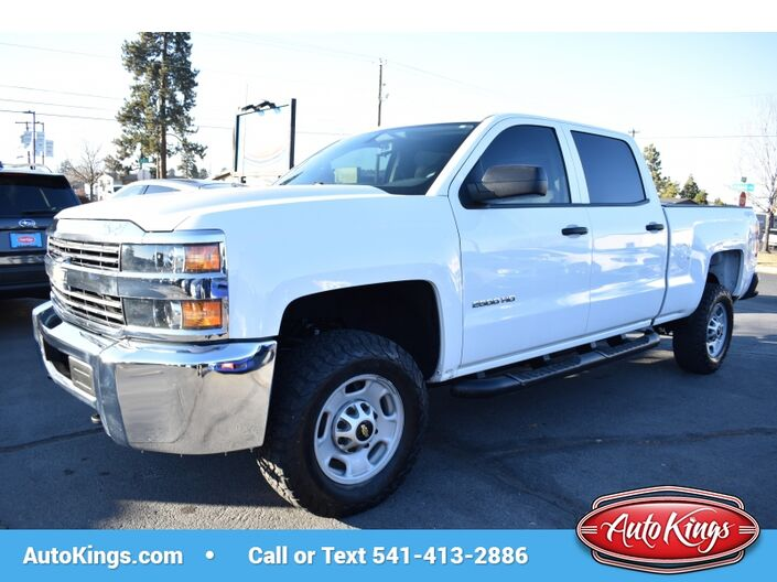 2015 Chevrolet Silverado 2500HD 4WD Crew Cab Work Truck Bend OR