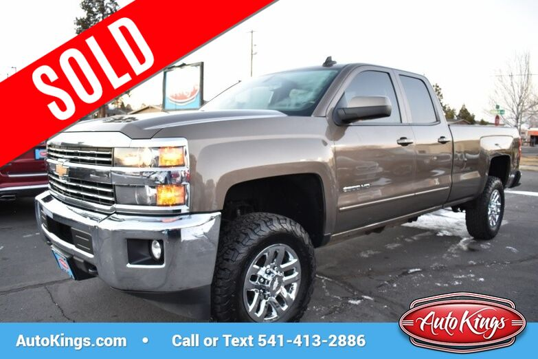 2015 Chevrolet Silverado 2500HD 4WD Double Cab 144.2 LT Bend OR