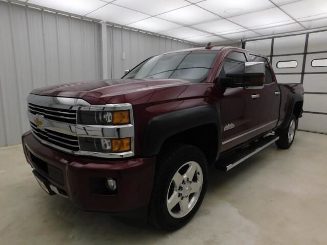 2015 Chevrolet Silverado 2500HD Built After 4WD Crew Cab 153.7 High Manhattan KS
