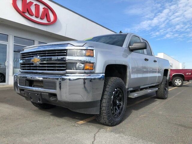 2015 Chevrolet Silverado 2500HD Built After Aug 14 4WD DOUBLE CAB 144.2 LT Yakima WA