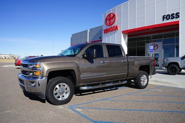 2015 Chevrolet Silverado 2500HD Built After Aug 14 LTZ Casper WY