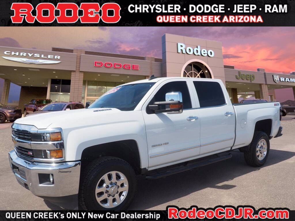 2015 Chevrolet Silverado 2500HD Built After Aug 14 LTZ Queen Creek AZ