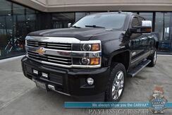 2015_Chevrolet_Silverado 2500HD_High Country / 4X4 / Crew Cab / Duramax / Auto Start / Heated & Cooled Leather Seats / Heated Steering Wheel / Bose Speakers/ Sunroof / Navigation / Rear Entertainment / Tonneau Cover / Bed Liner / Tow Pkg / 1-Owner_ Anchorage AK