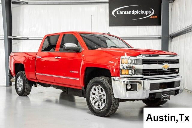 2015 Chevrolet Silverado 2500HD LTZ Dallas TX
